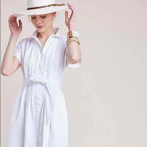 Corey Lynn Calter Carla white pleated dress